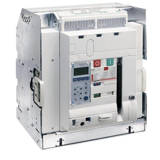 Disjoncteur ouvert débrochable DMX³2500 pouvoir de coupure 100kA taille 2 - 3P 2500A