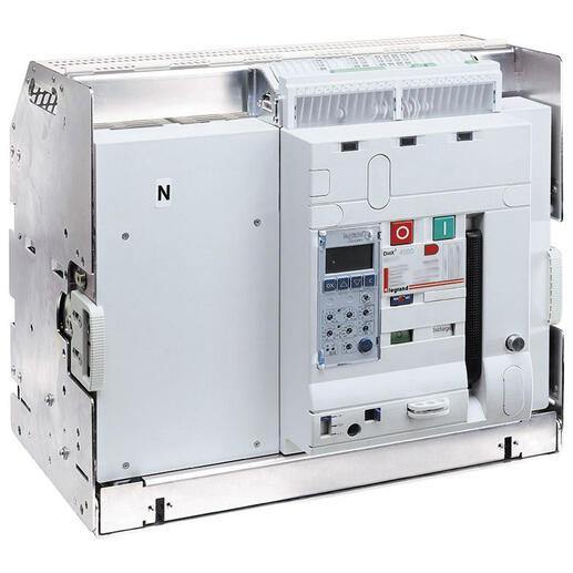 Disjoncteur ouvert débrochable DMX³2500 pouvoir de coupure 100kA taille 2 - 4P 1250A