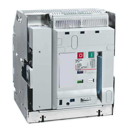 Interrupteur ouvert DMX³-I2500 débrochable taille 1 - 4P - 1600A