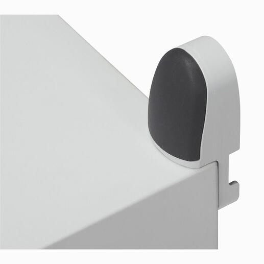 Jeu de 4 pattes de fixation murale pour coffret Marina hauteur 400mm à 1200mm - pour charge 150kg