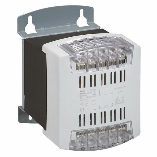 Transformateur de commande et sécurité à connexion à vis primaire 460V et secondaire 24V~ - 1000VA