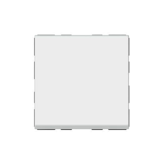 Poussoir ou poussoir inverseur Mosaic Easy-Led 6A 250V~ 2 modules - blanc