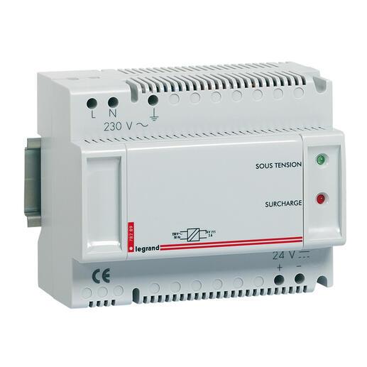 Alimentation modulaire 24V 2A 48W pour afficheur référence 076660 - 8 modules