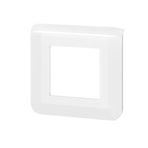 Lot de 100 plaques de finition Mosaic pour 2 modules blanc
