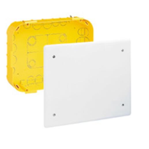 Boîte pour dérivation Batibox cloisons sèches 170x170x50mm couvercle 195x195mm
