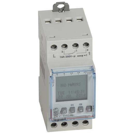 Horloge à cadran digital automatique - pour 2 circuits - 2 modules