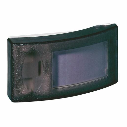 Sonnette pour intérieur - 230V - avec porte-étiquette et voyant