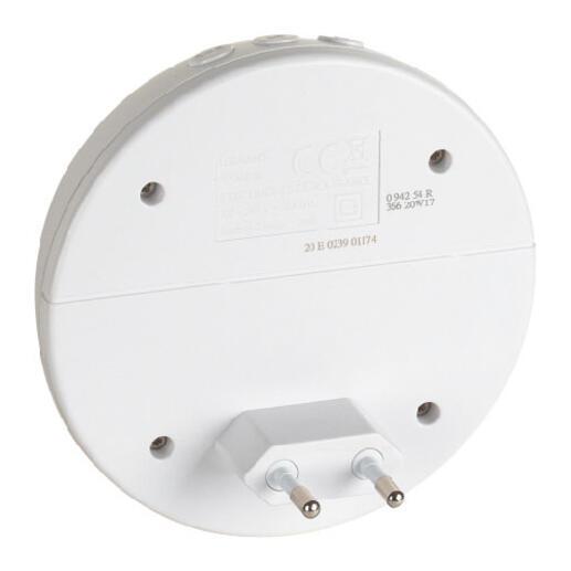Kit carillon radio sans fils Confort plug-in 230V - blanc