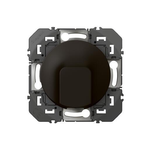 Sortie de câble standard dooxie finition noir - emballage blister