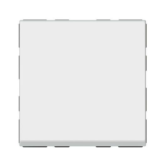 Interrupteur ou va-et-vient témoin avec voyant Mosaic Easy-Led 10A 2 modules - blanc