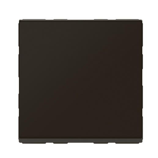 Interrupteur ou va-et-vient lumineux avec voyant Mosaic Easy-Led 10A 2 modules - noir mat