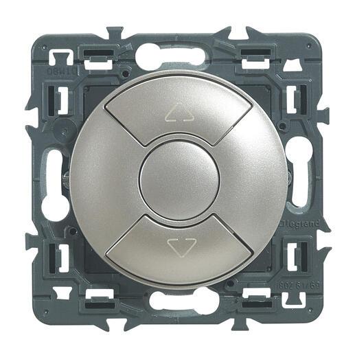 Interrupteur individuel de volets roulants Céliane - Titane