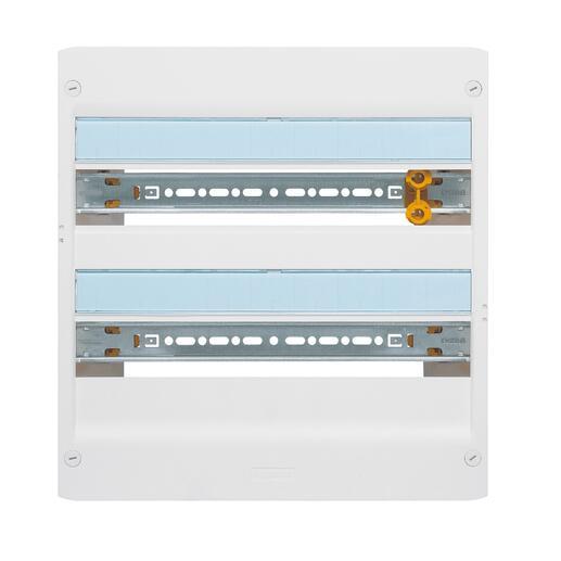 Coffret DRIVIA 18 modules 2 rangées IP30 IK05 - Blanc RAL9003