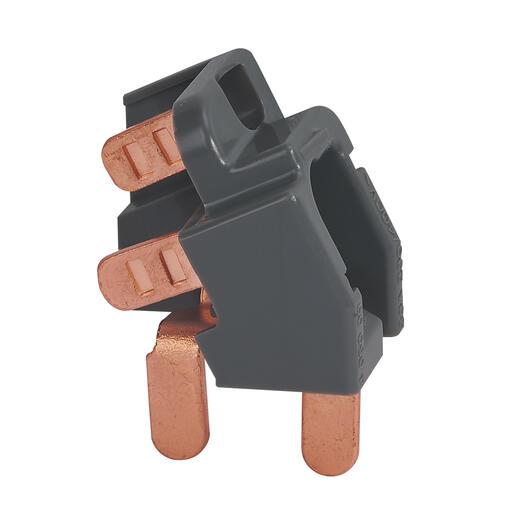 Dispositif de raccordement pour peignes verticaux et interrupteur différentiel 63A ou parafoudre