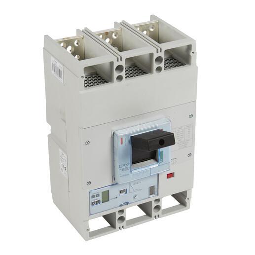 Disjoncteur électronique S2 avec unité de mesure DPX³1600 pouvoir de coupure 36kA 400V~ - 3P - 800A
