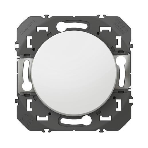 Poussoir simple dooxie 6A 250V~ finition blanc