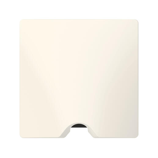 Sortie de câble IP21 dooxie livrée complète avec plaque finition blanc