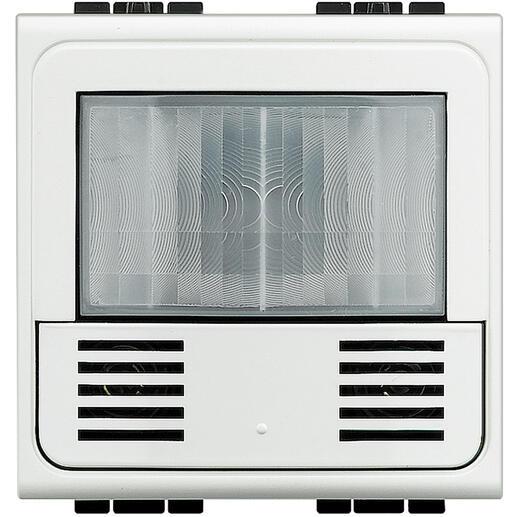 Détecteur de présence 3 fils avec neutre Livinglight - Blanc - 2 modules