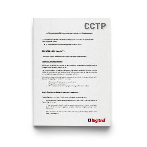 Outils Documentations et guides CCTP appareillage dooxie