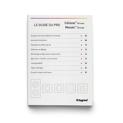 Outils Documentations et guides Céliane™ with Netatmo