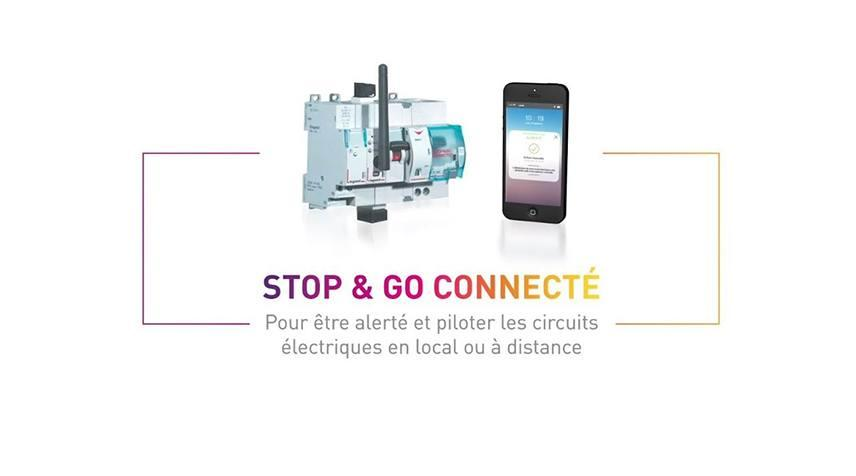 Stop and go connecte video