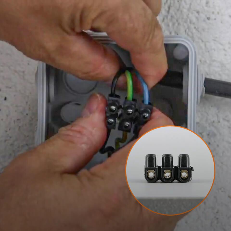Cordon Electrique Pour Lampe comment brancher un domino électrique ? - espace grand