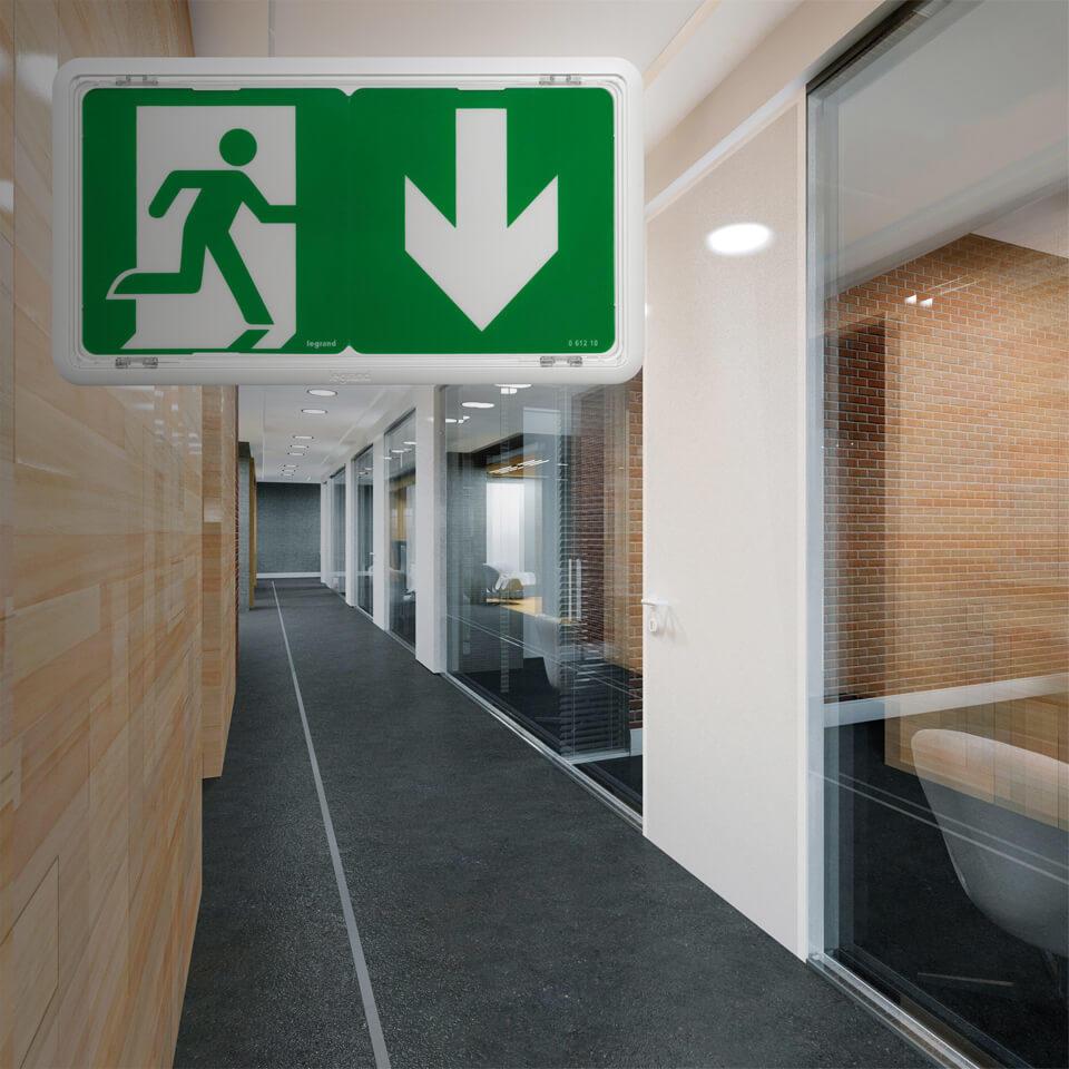 2 marches Stand Escalier Acier Escalier emplacement libre largeur 100 cm hauteur 42 cm Noir