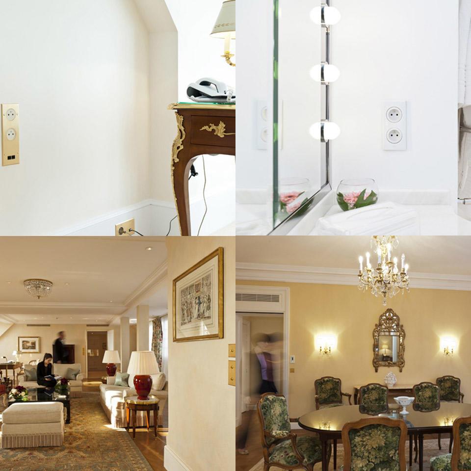 appareillage arnould legrand quipe l h tel bristol espace pro legrand. Black Bedroom Furniture Sets. Home Design Ideas