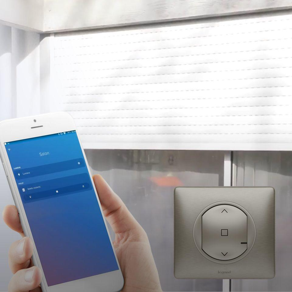 installer un interrupteur connect pour volet roulant c liane with netatmo espace grand. Black Bedroom Furniture Sets. Home Design Ideas