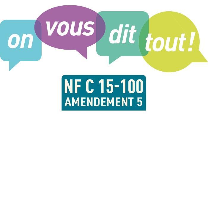 NFC GRATUIT NORME HAGER TÉLÉCHARGER 15-100
