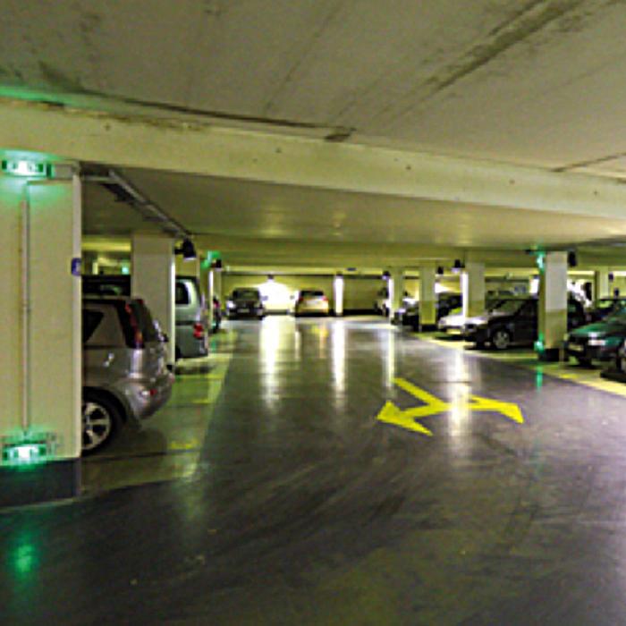 Normes et clairage de s curit et baes ce qu 39 il faut for Norme eclairage parking exterieur