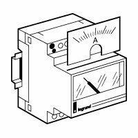 Cadran de mesure analogique pour ampèremètre référence 004600 - 0A à 100A