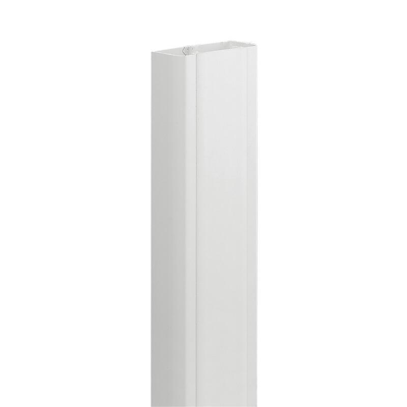 Goulotte 1 compartiment 50x80mm DLP monobloc - blanc