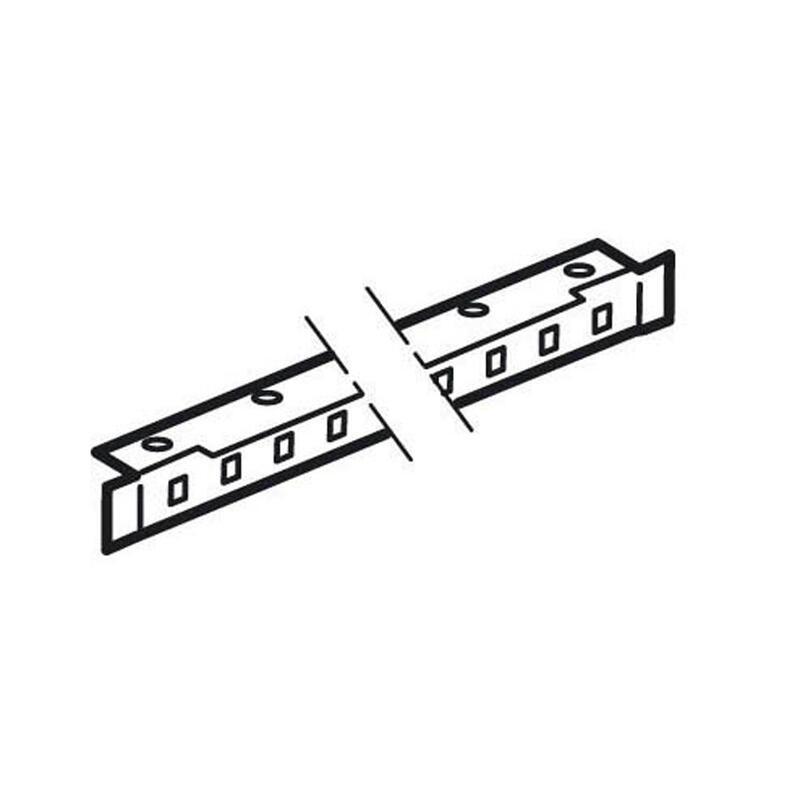 Jeu de 2 traverses réglables pour armoire XL³4000 - longueur 350mm