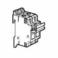 Coupe-circuit sectionnable SP38 pour cartouche industrielle 10x38mm - 1P+N équipé
