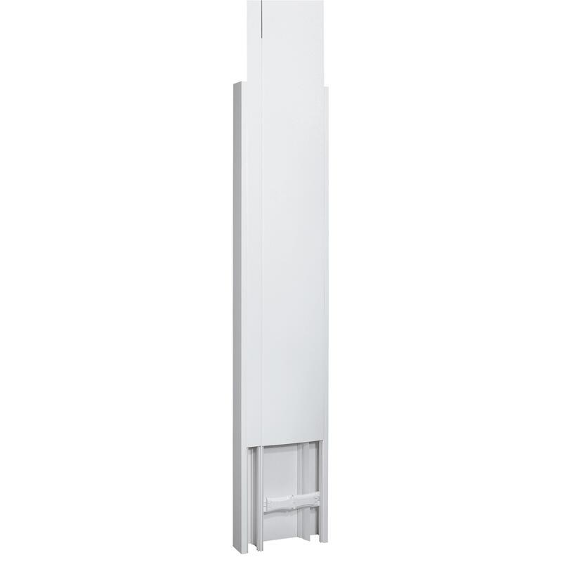 Goulotte GTL DRIVIA 13 Premium 65x250mm 2 couvercles partiels - longueur réglable 2,45m à 2,60m