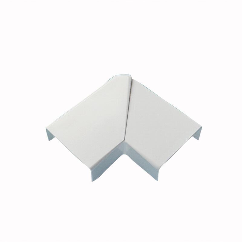 Angle plat variable pour moulure DLPlus 32x20mm - blanc