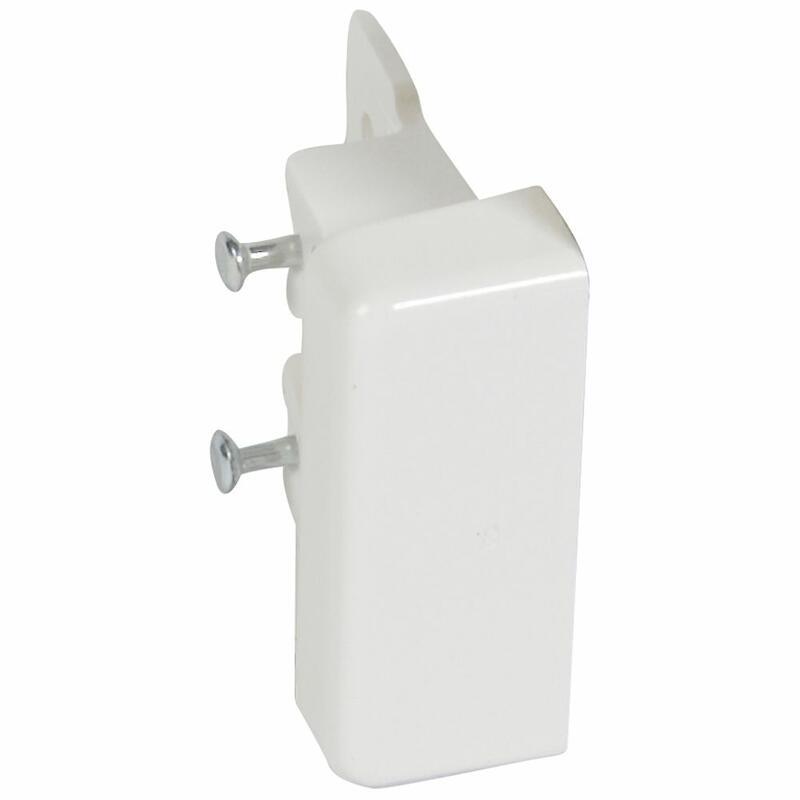 Embout pour moulure DLPlus 32x12,5mm - blanc