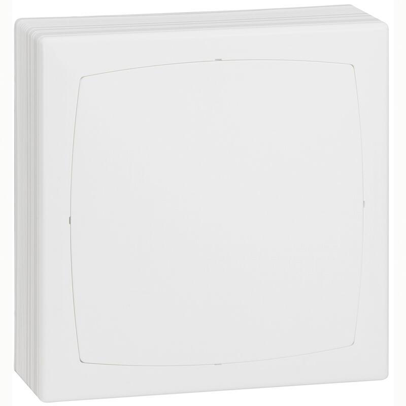 Boîte de dérivation 163x163x65mm pour goulotte DLP monobloc - blanc