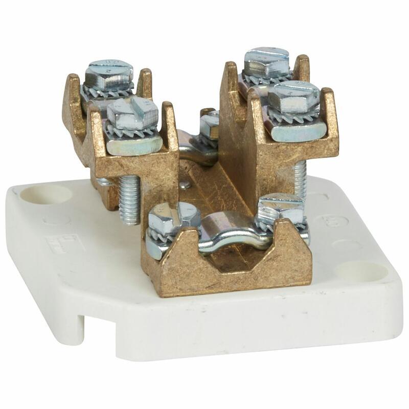 Plot de dérivation pour câble cuivre section 240mm² et intensité nominale 415A