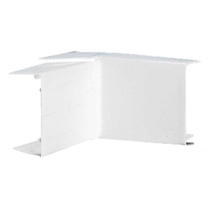 Angle intérieur ou extérieur variable pour moulure DLPlus 40x16mm - blanc
