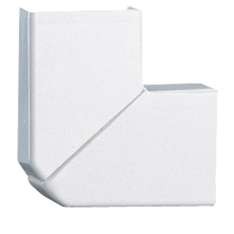 Angle plat variable pour moulure DLPlus 40x16mm - blanc