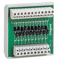 Module de test lampes 10 sorties pour Osmoz - fixation sur rail symétrique ou asymétrique
