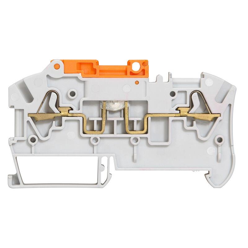 Bloc de jonction sectionnable à ressort Viking3 avec 1 jonction 2 conducteurs pour circuit standard à mini préhenseur