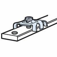 Connecteur pour barre cuivre 12x4mm à trous taraudés - pour 1 ou 2 conducteurs de 1,5mm² à 10mm²