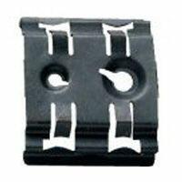 Griffe largeur 35mm pour fixation appareillage sur rails EN 60715 symétrique - trous pour vis M4 et M6