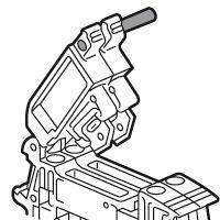 Tige de solidarisation pour 2 blocs de jonction sectionnables à vis ou ressort Viking 3