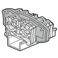 Cloison de séparation pour blocs de jonction à ressort Viking3 avec 2 étages