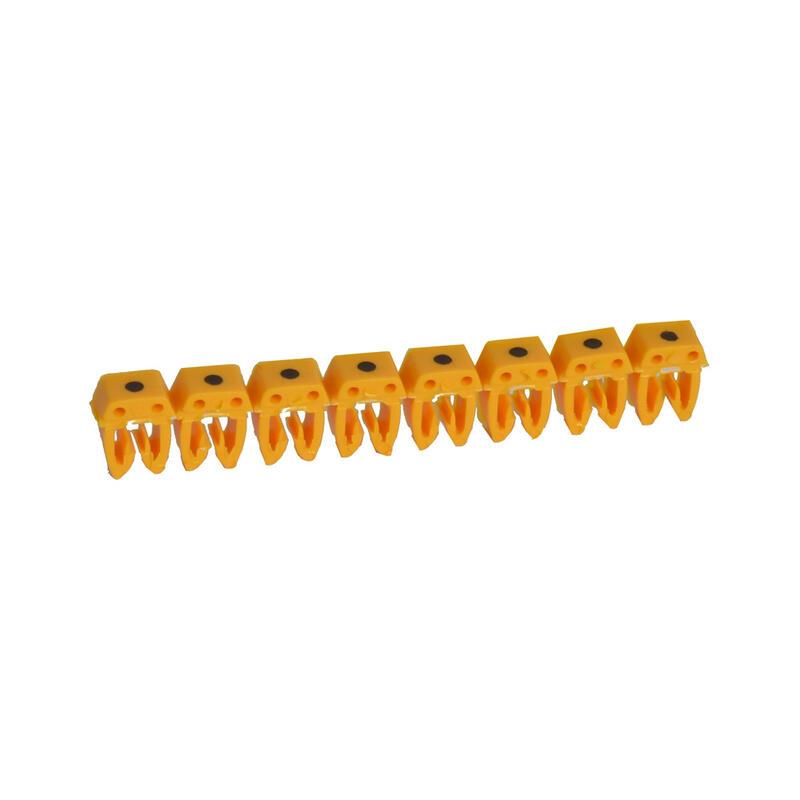 Repère CAB 3 pour filerie 1,5mm² à 2,5mm² avec signe conventionnel point