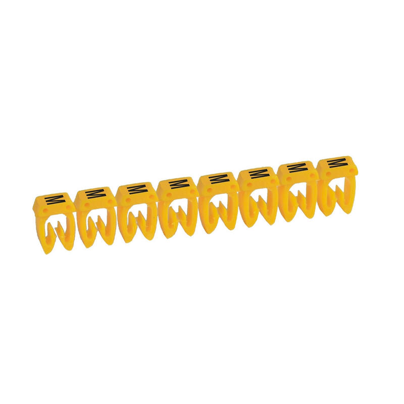Repère CAB 3 pour filerie 4mm² à 6mm² avec lettre majuscule M